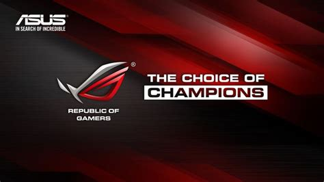 asus  choice  champions rog windows wallpaper hd