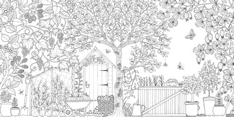 secret garden colouring book size seivo image free secret garden coloring pages seivo