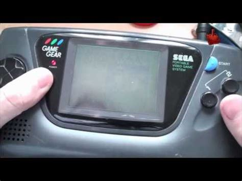 mod led game gear retro snippets 64 game gear reparatur led mod youtube