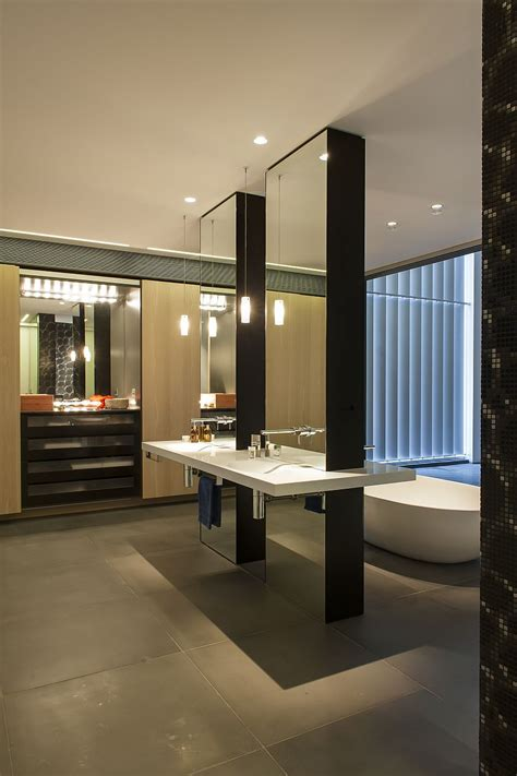 hollywood lights bathroom contemporary ensuite bathroom with cutting edge design in