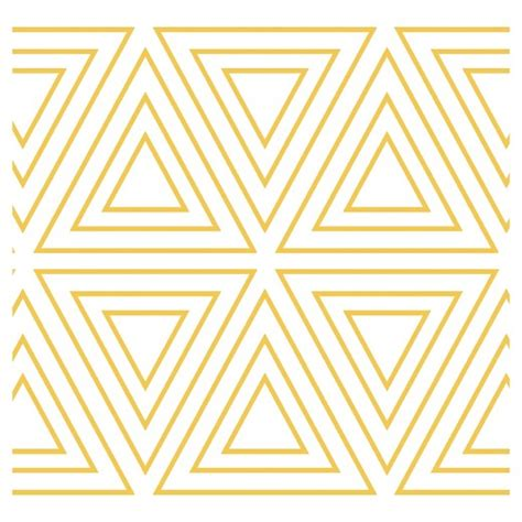 gold wallpaper target tempaper kids triangles self adhesive removable borders