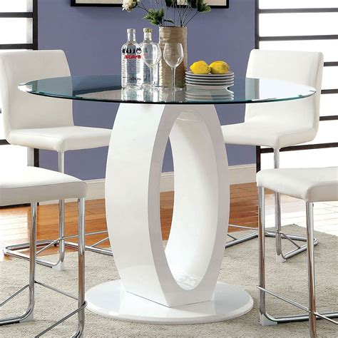 Lodia Set lodia ii counter height dining set white furniture of