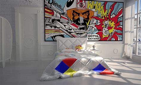 pop art bedroom star wars pop art battle by bergie81