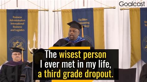 Lessons From A Third Grade Dropout rick rigsby s iconic speech lessons from a third grade