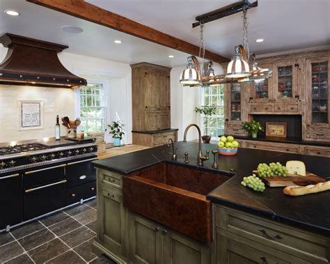 Tuscan Kitchen Backsplash Wood Rustic Kitchen Bluebell Kitchens