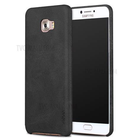 Casing Samsung C5 Custom Hardcase x level vintage series leather coated for samsung galaxy c5 pro black tvc mall