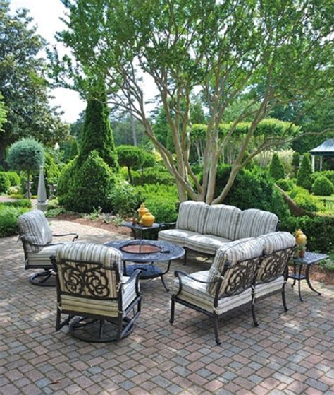 Luxury Patio Furniture Chateau By Hanamint Luxury Cast Aluminum Patio Furniture