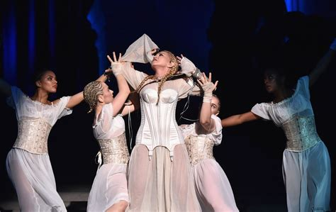 Gamis Madonna by Madonna Premieres New Song Beautiful At The Met