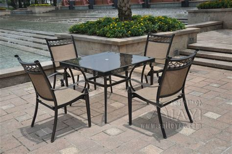 outdoor cast aluminum patio furniture aliexpress buy 5 cast aluminum patio furniture