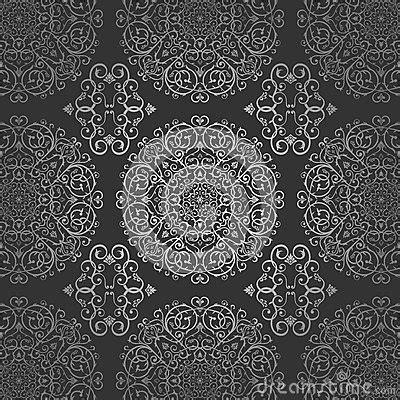 tapete arabisch tapeten arabischer batik kreis dunkle silberne muster mit