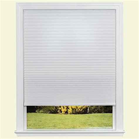 at home l shades redi shade easy lift trim at home white 9 16 in cordless
