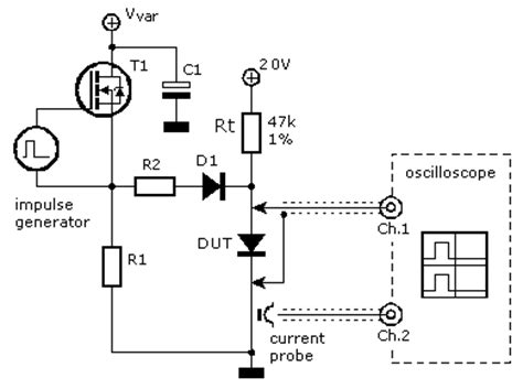 how to measure diode recovery diode measurements electronic measurements