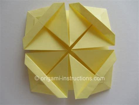 fancy origami origami fancy basket folding
