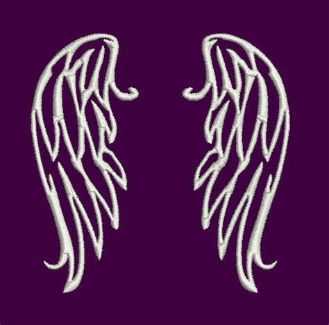 embroidery design angel wings angel wings machine embroidery design instant download