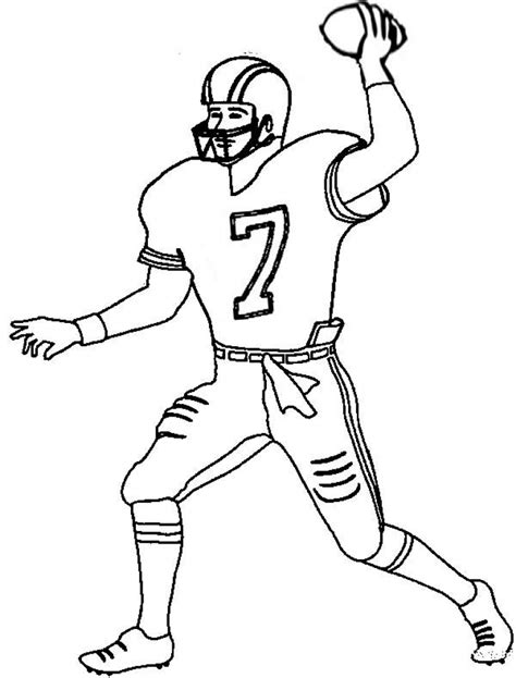 nfl coloring pages green bay nfl green bay packers football player coloring pages