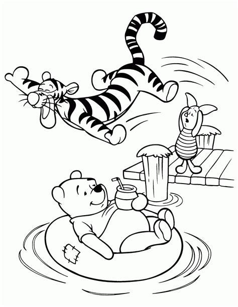 walt disney winnie  pooh  friends coloring pages
