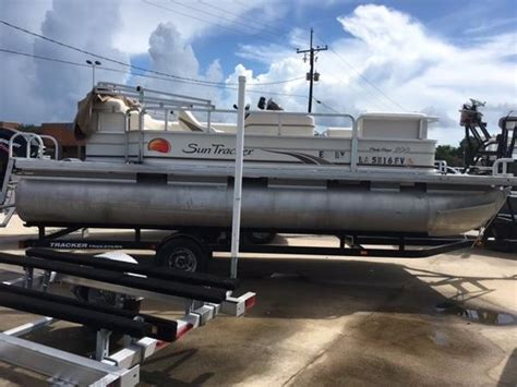 used tracker boats for sale in louisiana sun tracker party barge boats for sale in louisiana
