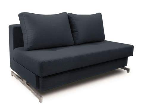 modern black fabric sofa sleeper k43 2 by ido