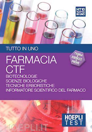 farmacia test 2015 hoepli test farmacia ctf tutto in uno libro hoepli