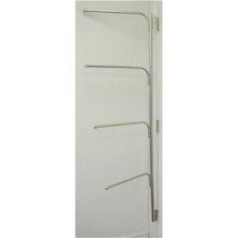 bathroom door hinge towel rack hinge it towel clothes rack white 11001 the home depot