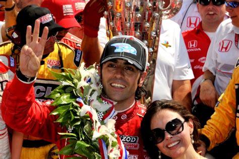 Judds Husband Wins Indianapolis 500 by Dario Franchitti Wins 3rd Indianapolis 500 Celebrates