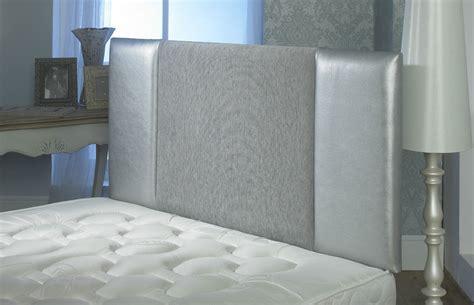 Silver Grey Headboard by Oxford Chenille Faux Leather Headboard