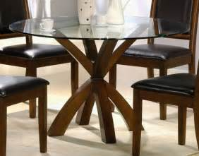 Glass Top Dining Room Tables Glass Topped Dining Room Tables House Design Ideas