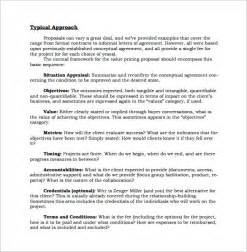 sales proposal templates 10 free sample example