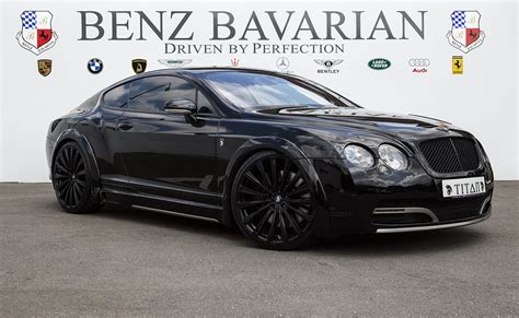 black bentley back project titan bentley continental gt black edition