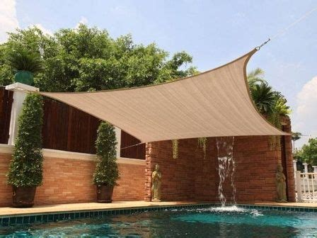 new square 12x12 sun shade sail cover canopy outdoor patio