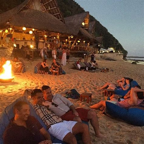 finns beach club bonfires bali holiday planning