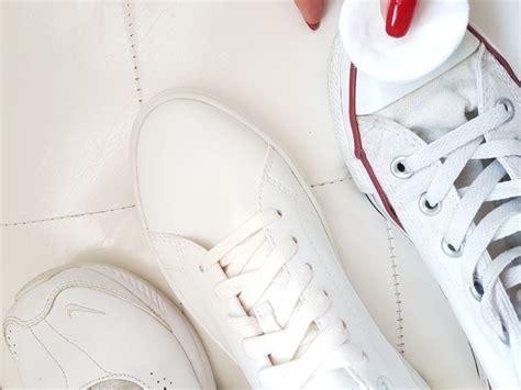 Schuhe Polieren Mit Bananenschale by Wei 223 E Sneakers Pflegen 6 Tipps Mit Hausmitteln Pretty You