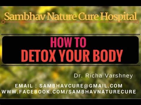How Can I Detox My Naturally At Home by How To Detox Your Naturally By Acupressure