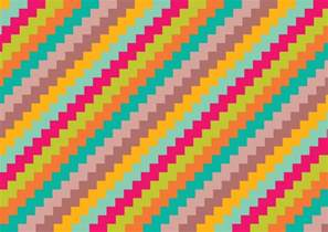 colorful patterns colorful zig zag pattern background free vector