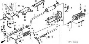 2001 Honda Accord Exhaust System Diagram Honda Civic Exhaust Diagram Honda Free Engine Image For