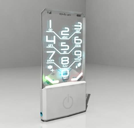 transparent mobile phone future concept nokia