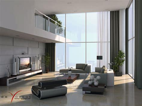 modern white and grey living room modern grey white lounge mezzanine house interior design ideas