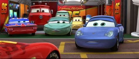 cars sally and lightning mcqueen kiss pics for gt cars 2 lightning mcqueen and sally kiss