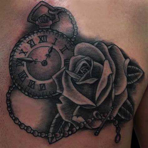 clock with roses tattoo meaning collection of 25 beautiful clock flowers tattoos