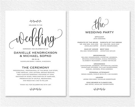 free wedding invitation templates for word mini bridal