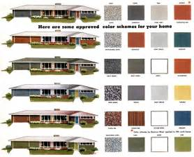 Exterior House Colors For Ranch Style Homes Exterior Color Schemes For Ranch Style Homes Home Design