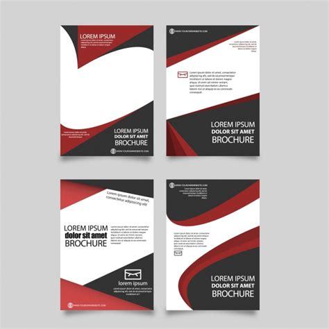 brochure template neooffice red brochure template vector free download