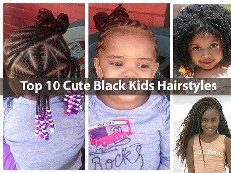 top ten back to school kids haircuts top 10 cute black kids hairstyles styles little girls