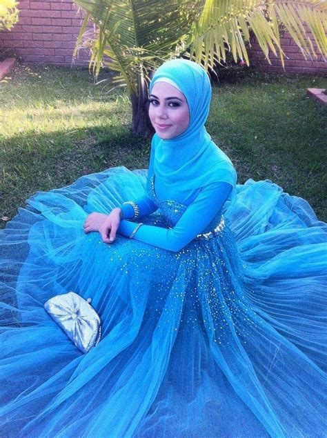 Dress Muslim Abaya Hikmat Fashion A192 Turquise unique evening dresses from uk hijabiworld