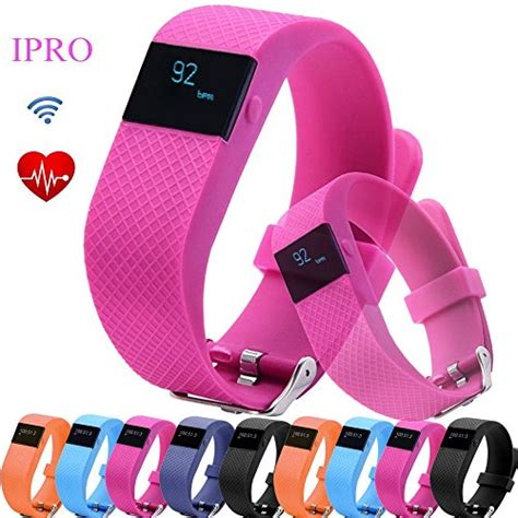 Pedometer Bracelet for Kids,IPRO TW64S Garmin Heart Rate Monitor Wristband Activity Fitness