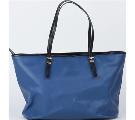 Tas Lucu Tote Sumbu Blue charles and keith blue and yellow tote bag