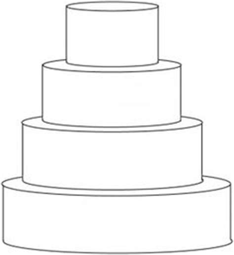 3 tier cake card template design your own cake with this outline of a basic tiered
