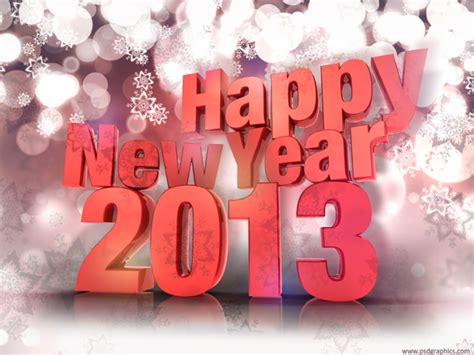 new year in 2013 happy new year 2013 psdgraphics