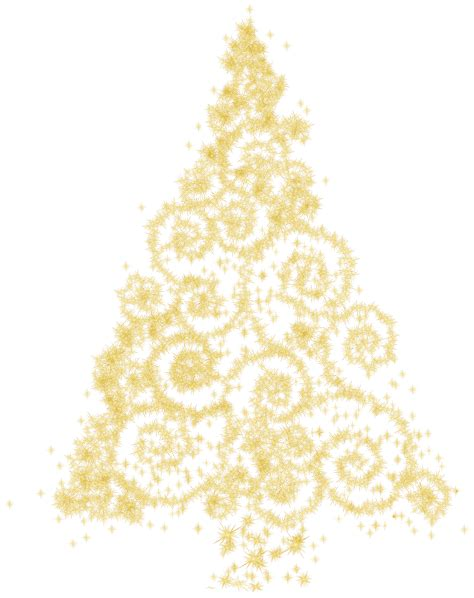 weihnachtsbaum gold gold tree clipart clipartxtras