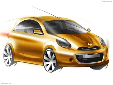 nissan compact eco car sketch exotic car wallpapers